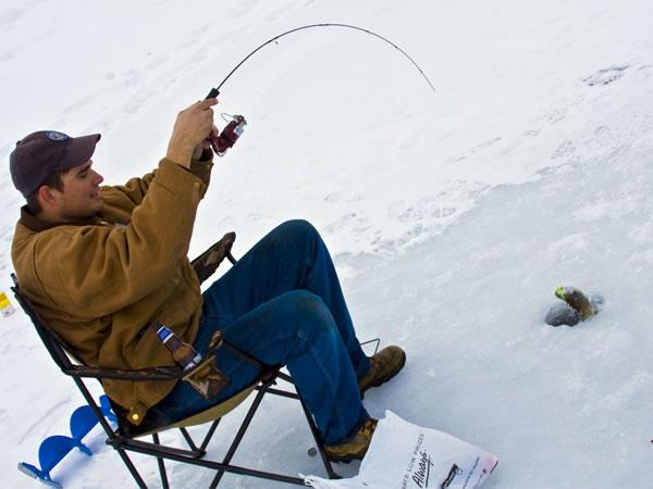 Рыбалка в январе январь рыбалка